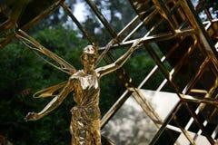 对& x22的一座纪念碑; 神仙的首要accountant& x22;在Sokolniki公园 免版税图库摄影