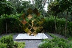 对& x22的一座纪念碑; 神仙的首要accountant& x22;在Sokolniki公园 免版税库存照片