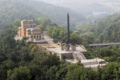 对Asen朝代的纪念碑 免版税图库摄影