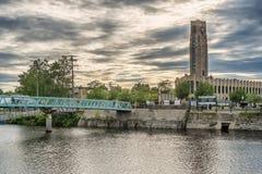 对Atwater市场的一点桥梁 库存照片