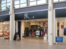 BHS商店入口。, 免版税库存照片