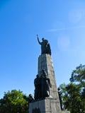 对Bohdan赫梅利尼茨基的纪念碑在Cigirin 库存照片