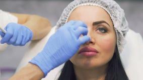 对botox做法的准备 影视素材