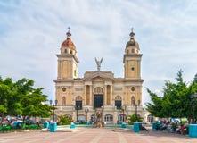 对Catedral Nuestra de夫人la亚松森的看法 免版税库存图片