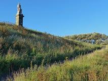 对Collingwood, Tynemouth海军上将的纪念碑 库存图片