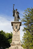 对corregidora的纪念碑我 库存图片
