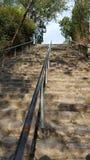 对d天堂的楼梯 库存照片