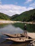 对Daraitan菲律宾的小船 免版税图库摄影