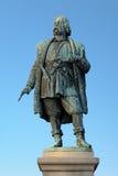 对Engelbrekt Engelbrektsson的纪念碑在Orebro,瑞典 免版税库存图片