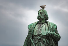 对Engelbrekt Engelbrektsson,瑞典的纪念碑 免版税图库摄影