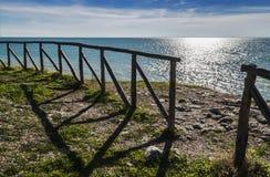 对Gargano天堂的入口 免版税库存照片