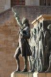 对Girolamo Gozi的纪念碑在圣马力诺 免版税库存照片