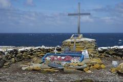 对HMS谢菲尔德-福克兰群岛的纪念品 免版税库存照片