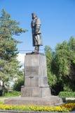 对Holzunov v的纪念碑 S 伏尔加格勒 库存图片