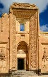 对Ishak巴夏宫殿的一个门  免版税库存照片