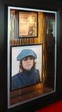 对Jhon Lenon的墙壁进贡 库存图片