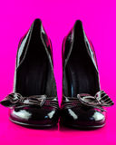 对lady' s高跟鞋鞋子 库存图片