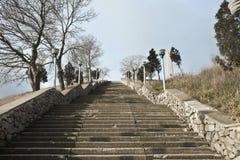 对Mithridates的楼梯 图库摄影