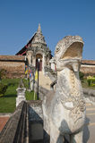 对Phra的入口该Lampang Luang 免版税图库摄影