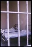 1992对Psychiatic医院的老照片 库存照片