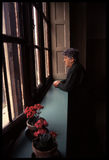 1992对Psychiatic医院的老照片 免版税库存图片