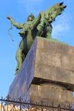 对Salavat Yulaev的纪念碑 免版税库存照片