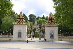 对Sereia庭院的入口 库存图片