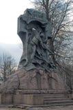 对Steregushchy的纪念碑 图库摄影