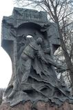 对Steregushchy的纪念碑 库存图片