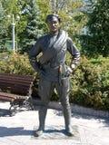 对Sukhov同志的纪念碑 图库摄影