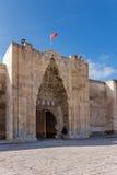 对Sultanhani的入口 免版税库存照片