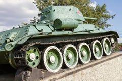 对T-34的纪念碑 库存图片