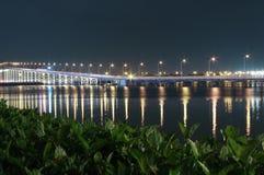 对Taipa的桥梁在澳门 免版税图库摄影