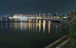 对Taipa的桥梁在澳门 图库摄影