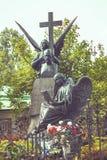 对Tchaikovsky的纪念碑 免版税库存照片
