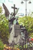 对Tchaikovsky的纪念碑 库存照片