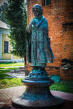 对Tsarevich Dimitry的纪念碑 库存照片