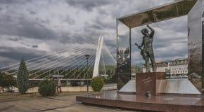 对v的chapaev纪念碑 Vysotsky 图库摄影