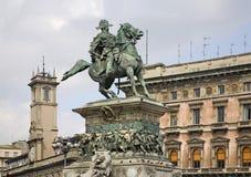 对Victor伊曼纽尔II国王的纪念碑 免版税库存图片
