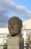 对vladimir的列宁纪念碑 免版税库存照片