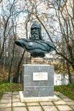对Yury Dolgorukiy的纪念碑 免版税库存图片
