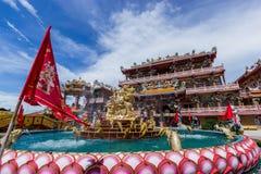 寺庙中国人社区 免版税图库摄影
