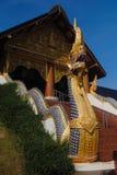 寺庙人们崇拜的地方 免版税库存照片