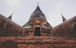 寺庙入口在泰国 库存图片