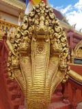 寺庙台阶装饰 库存照片