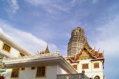 寺庙和大厦 免版税库存图片