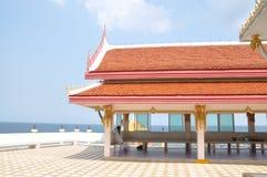 寺庙和看见 库存图片