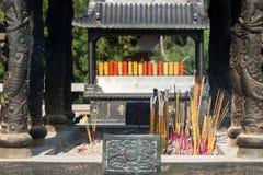 寺庙和香火,宗教天,亚洲 库存图片