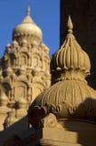 寺庙圆顶,印度寺庙 库存图片