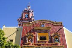 寺庙圣塔玛丽亚tonantzintla III 免版税库存图片